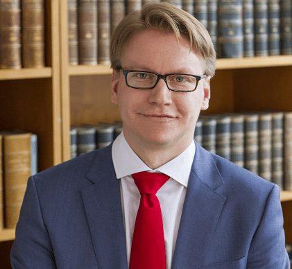 Nils Åberg, föreläsare hos Institutet för juridisk utbildning